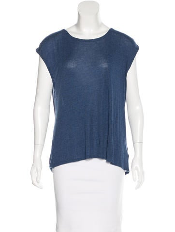 T by Alexander Wang Open Back Sleeveless Top None