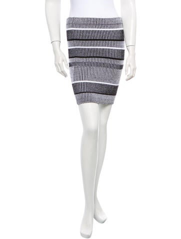 T by Alexander Wang Rib Knit Pencil Skirt w/ Tags None