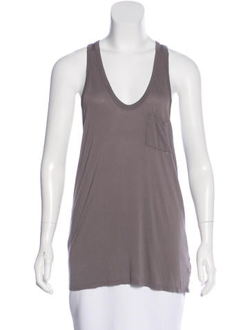 T by Alexander Wang Sleeveless Knit Top None