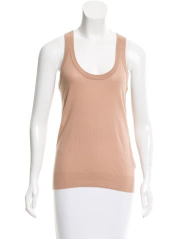 T by Alexander Wang Sleeveless Fine Knit Top None