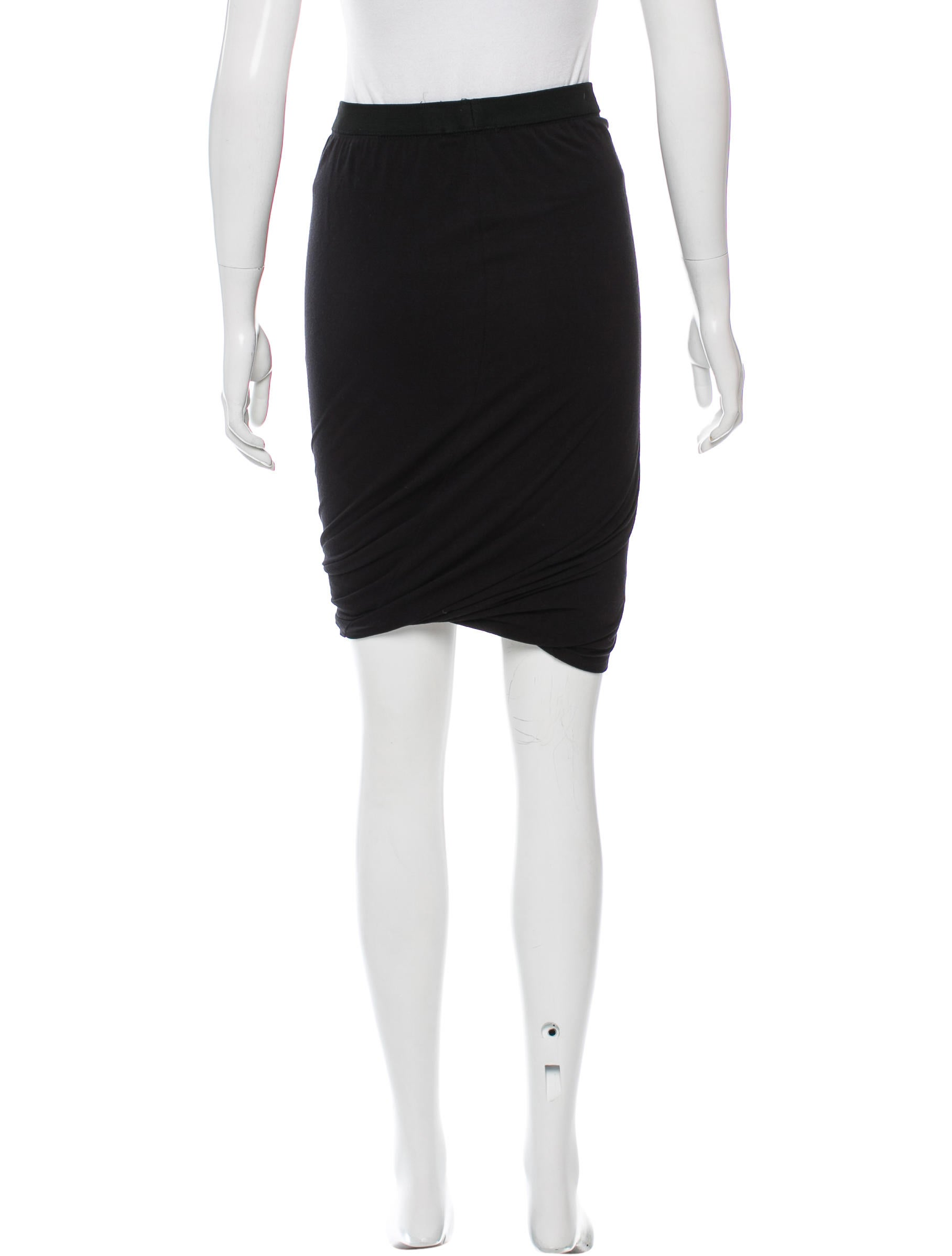 t by wang casual knee length skirt clothing