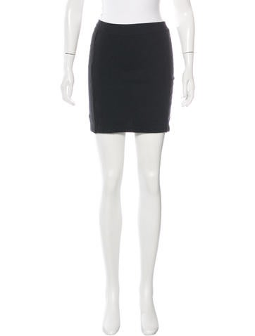T by Alexander Wang Rib Knit Mini Skirt None