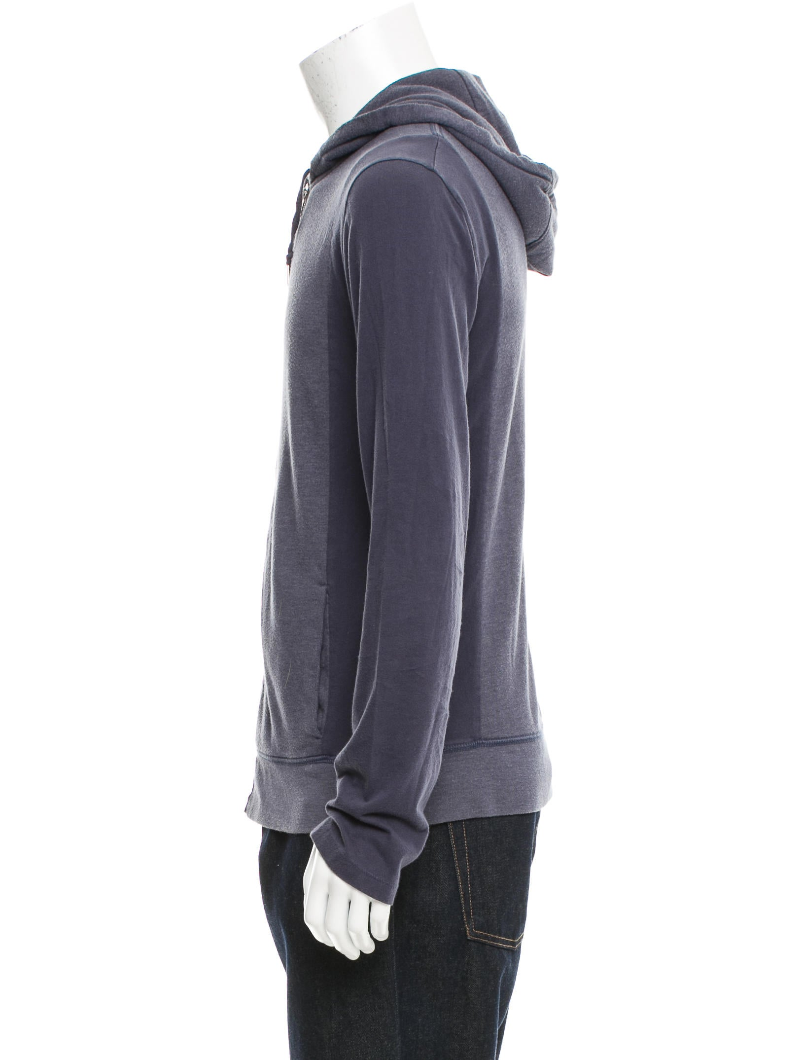 T by Alexander Wang Drawstring Zip-Up Hoodie - Clothing - WTB31163 | The RealReal