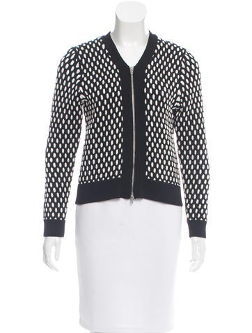 T by Alexander Wang Casual Knit Jacket None