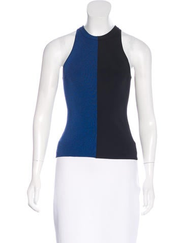 T by Alexander Wang Colorblock Knit Top None