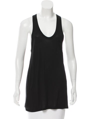 T by Alexander Wang Racerback Knit Top None