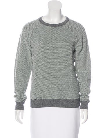 T by Alexander Wang Textured Knit Sweater None