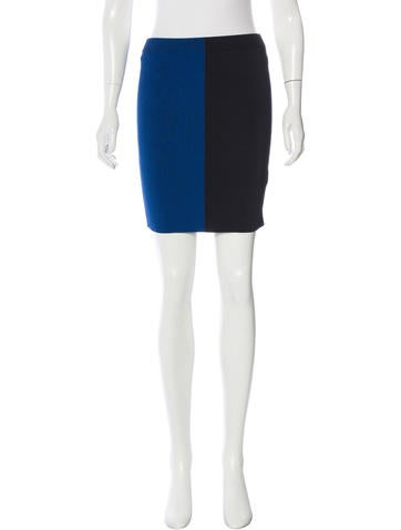 T by Alexander Wang Colorblock Bodycon Skirt w/ Tags None