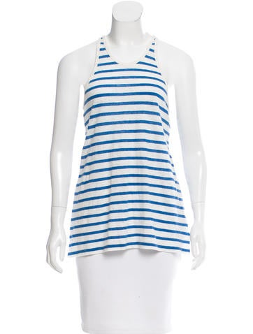 T by Alexander Wang Striped Racerback Top w/ Tags None