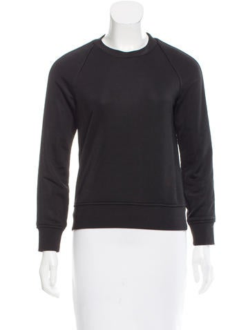 T by Alexander Wang Long Sleeve Crew Neck Top None