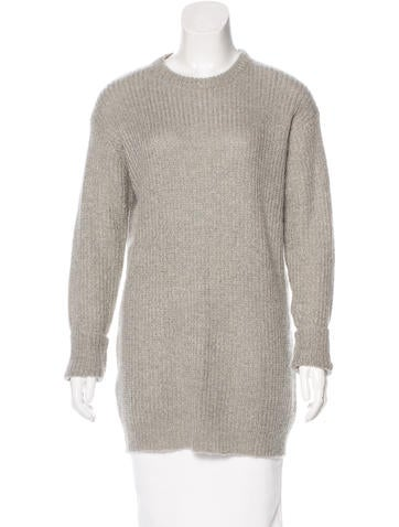 T by Alexander Wang Oversize Rib Knit Sweater None