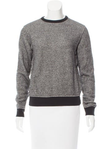 T by Alexander Wang Mélange Knit Top None