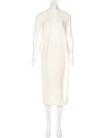 T by Alexander Wang Wool & Cashmere-Blend Rib Knit Tunic None