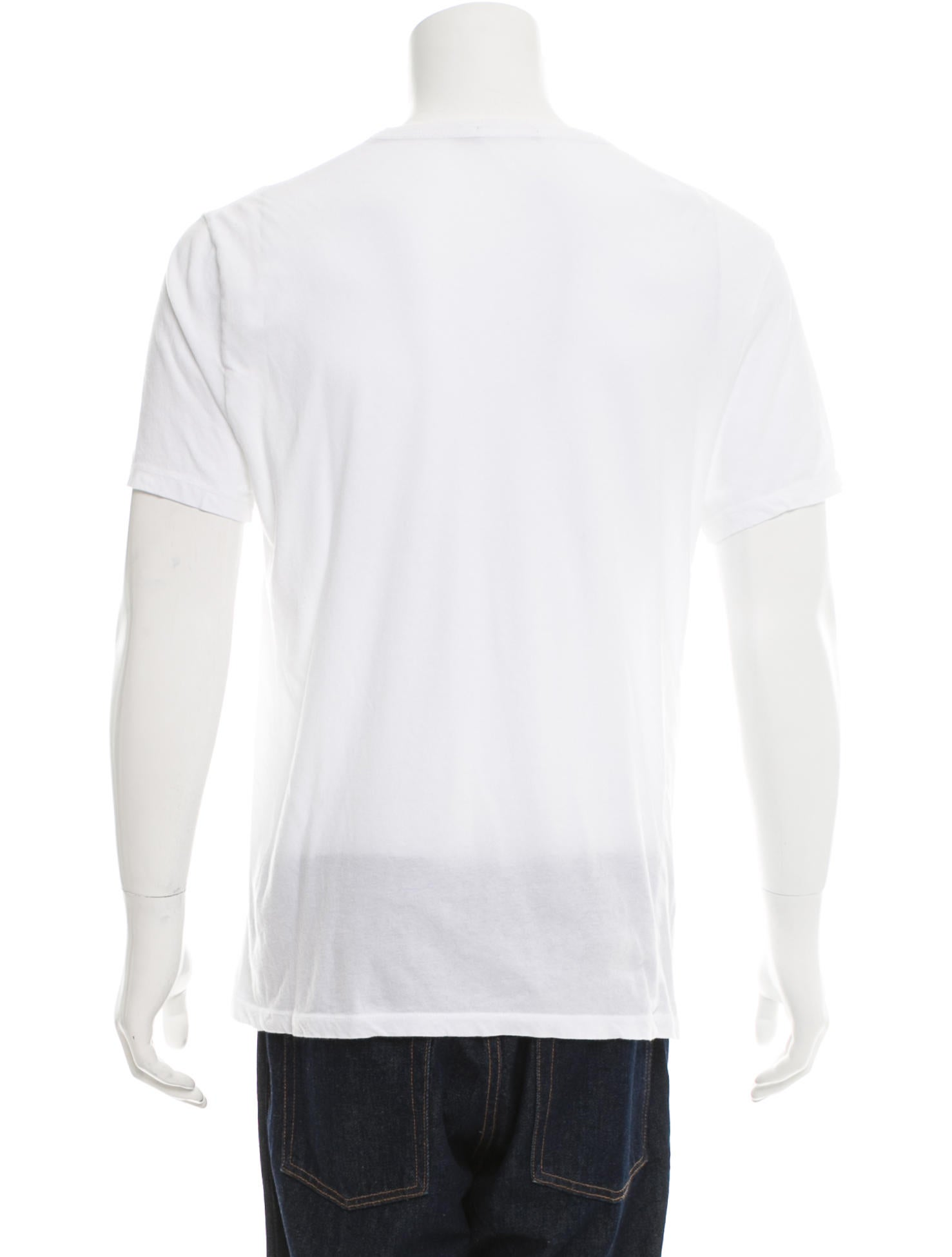 t by alexander wang crew neck t shirt clothing wtb32443 the realreal. Black Bedroom Furniture Sets. Home Design Ideas