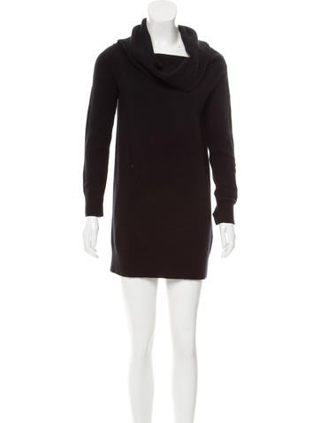 T by Alexander Wang Cowl Neck Wool Dress w/ Tags None