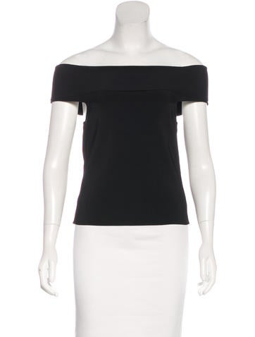 T by Alexander Wang Knit Off-The-Shoulder Top w/ Tags None