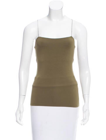 T by Alexander Wang Sleeveless Cutout Top None
