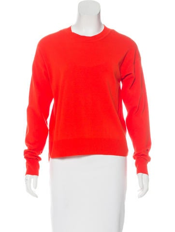 T by Alexander Wang High-Low Knit Sweater None