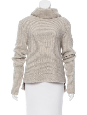 T by Alexander Wang Rib Knit Turtleneck Sweater None