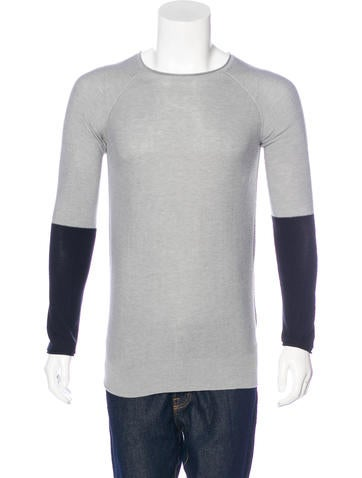 T by Alexander Wang Scoop Neck Sweater None