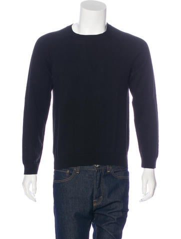T by Alexander Wang Striped Crew Neck Sweater None