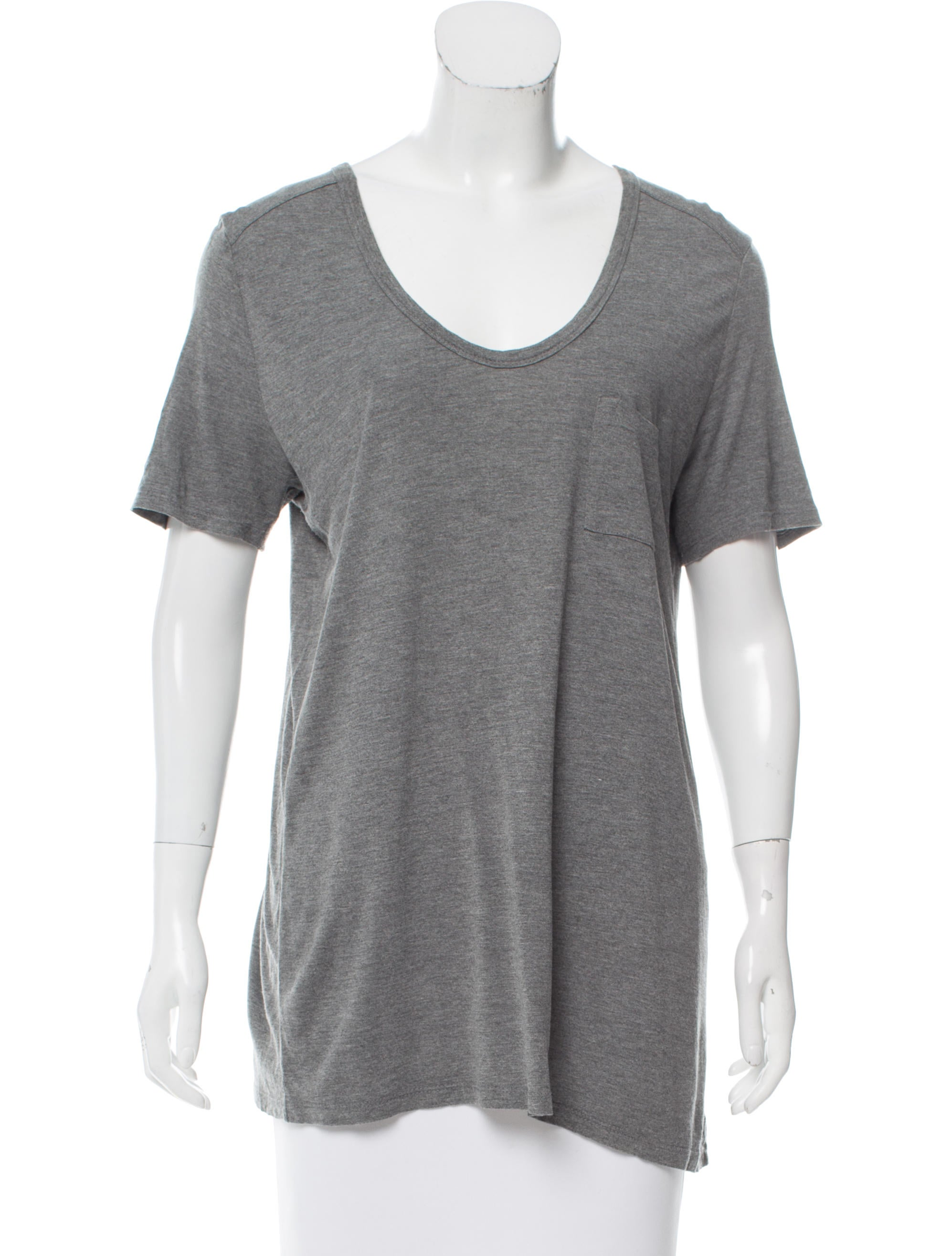 t by alexander wang short sleeve scoop neck t shirt clothing wtb33888 the realreal. Black Bedroom Furniture Sets. Home Design Ideas