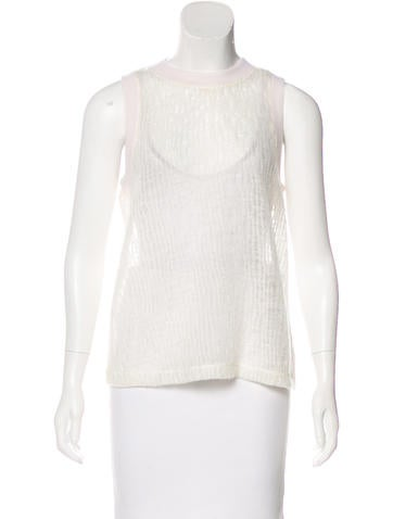 T by Alexander Wang Wool-Blend Sleeveless Top w/ Tags None