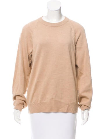 T by Alexander Wang Cutout-Back Wool Sweater None