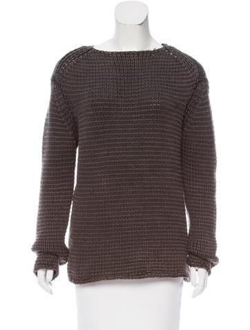 T by Alexander Wang Wool Rib Knit Sweater None
