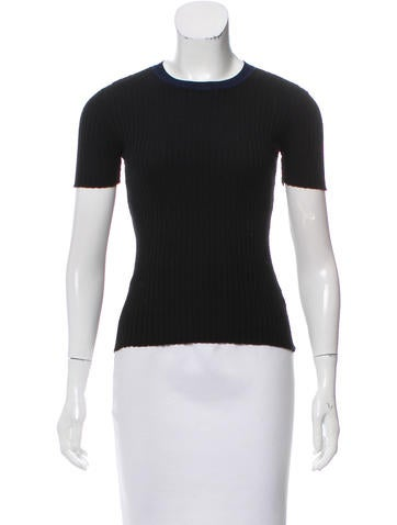 T by Alexander Wang Knit Ribbed Top None