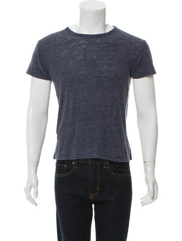 T by Alexander Wang Linen T-Shirt None