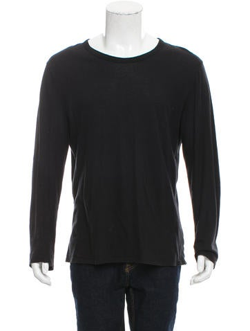 T by Alexander Wang Long Sleeve T-Shirt None