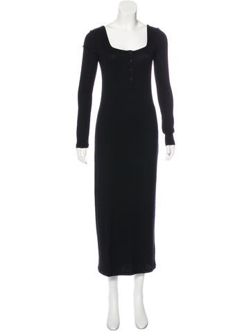 T by Alexander Wang Rib Knit Long Sleeve Dress w/ Tags None