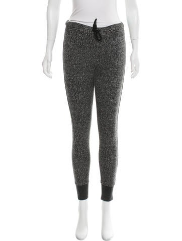 T by Alexander Wang Knit Skinny Joggers None