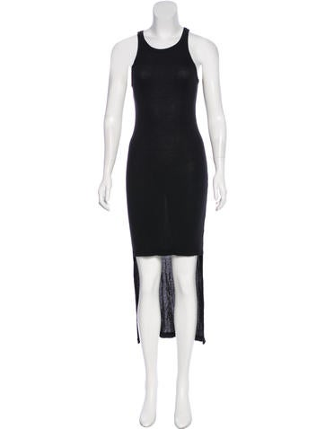 T by Alexander Wang Rib Knit Maxi Dress None