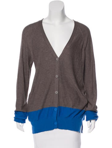 T by Alexander Wang Colorblock Knit Cardigan None
