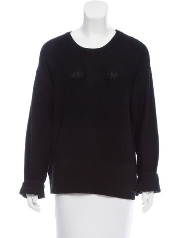 T by Alexander Wang Long Sleeve Sweater None