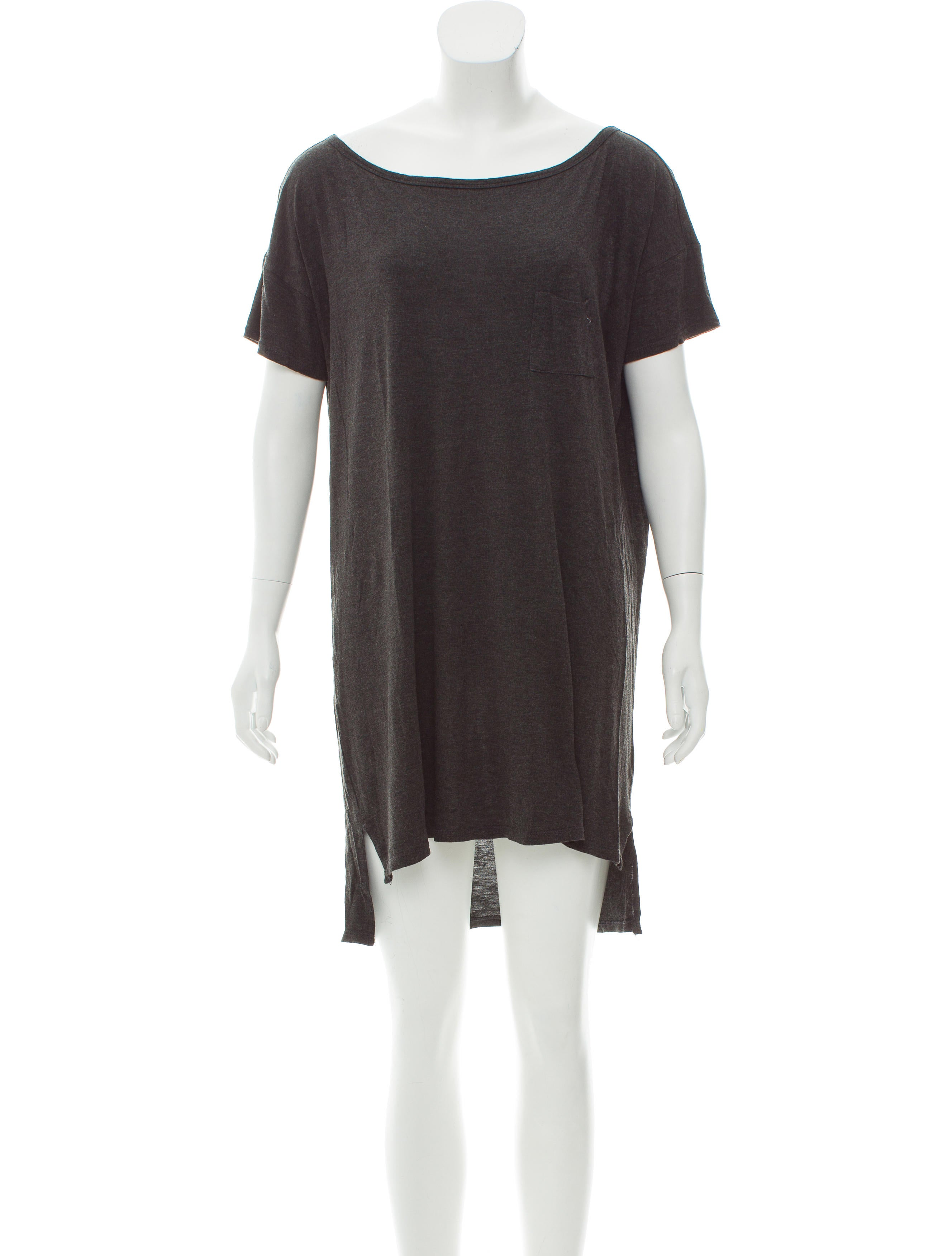 T By Alexander Wang Mini T Shirt Dress Clothing Wtb36569 The