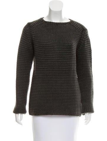 T by Alexander Wang Wool Rib Knit Sweater None