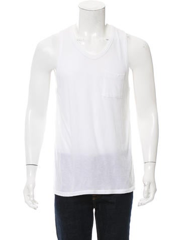 T by Alexander Wang Knit Scoop Neck Tank None