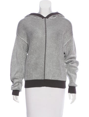 T by Alexander Wang Hooded Knit Sweater w/ Tags None
