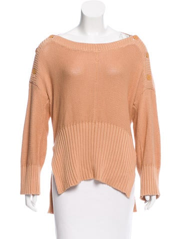 T by Alexander Wang Oversize Knit Sweater None