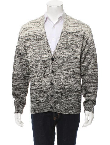 T by Alexander Wang Rib Knit Ombré Cardigan None
