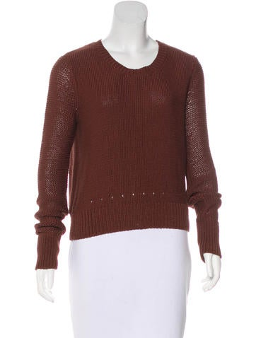 T by Alexander Wang Long Sleeve Knit Sweater None