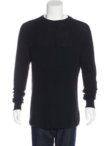 T by Alexander Wang Oversize Thermal Sweater None