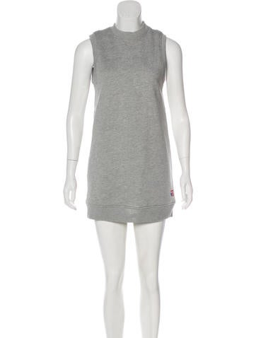 T by Alexander Wang Sleeveless Sweater Dress None