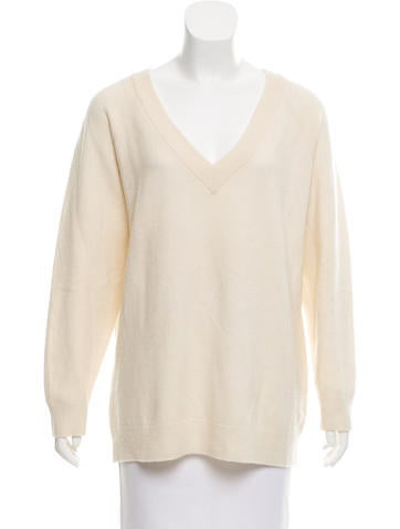 T by Alexander Wang Wool Long Sleeve Sweater None