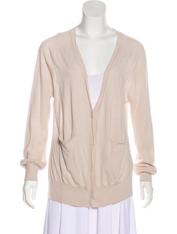 T by Alexander Wang Long Sleeve Knit Cardigan None