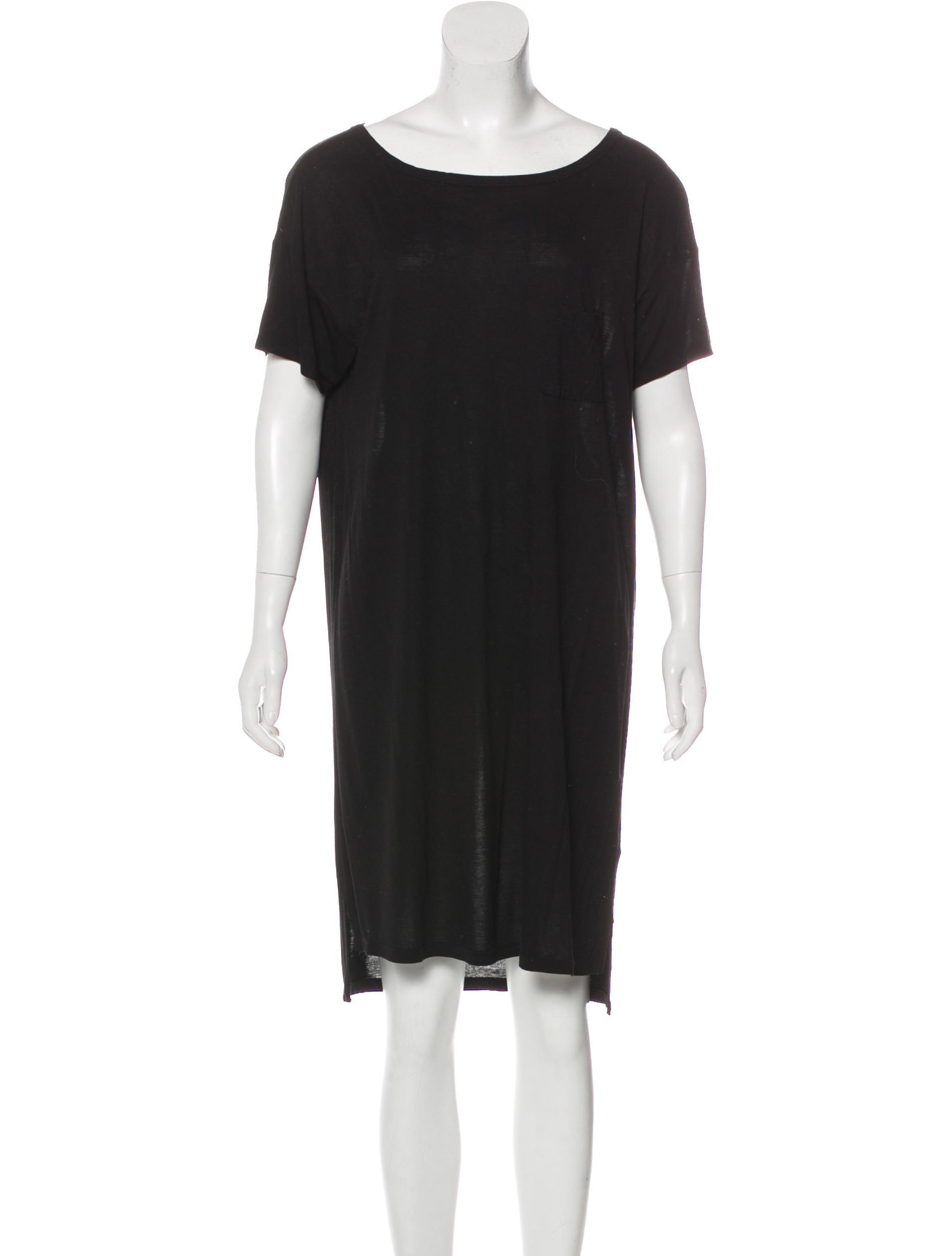 T By Alexander Wang Knee Length T Shirt Dress Clothing Wtb39895