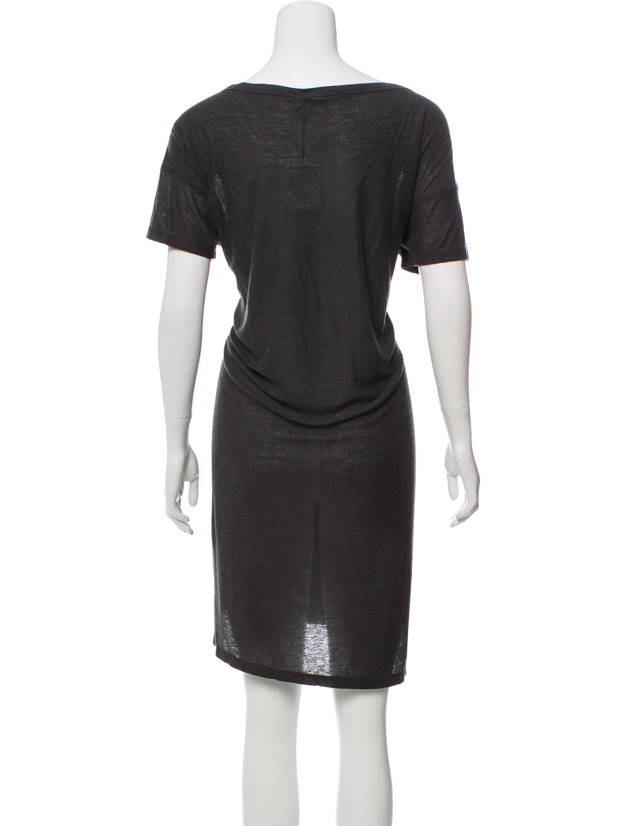 T By Alexander Wang Short Sleeve T Shirt Dress W Tags Clothing